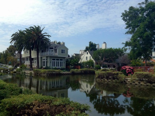How to entertain out of town guests in Los Angeles : Venice Canals