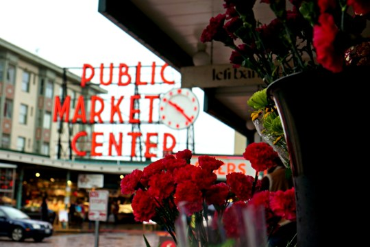 Weekend Getaway in Seattle - Pike Place Market