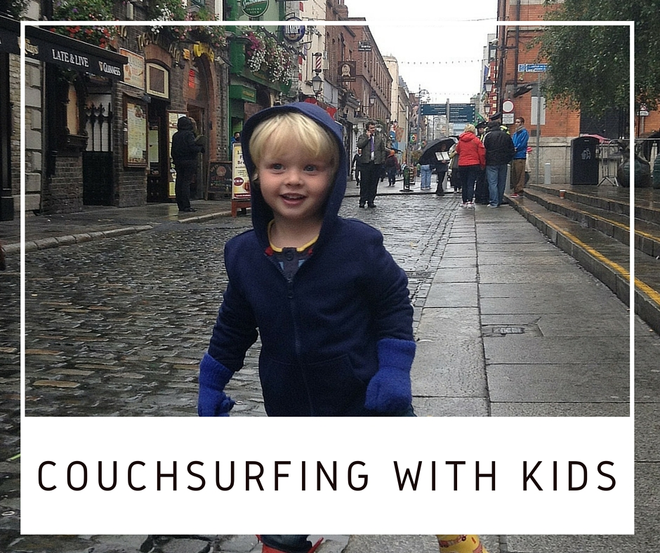 CouchSurfing with kids