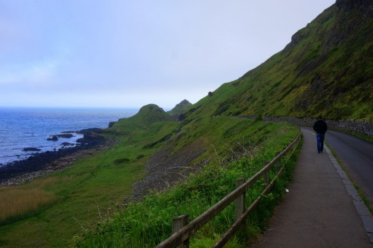Exploring the Giant's Causeway in Northern Ireland