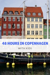 48 Hours in Copenhagen with kids is plenty of time to get the lay of the land and have some family fun at one of the worlds best amusement parks!