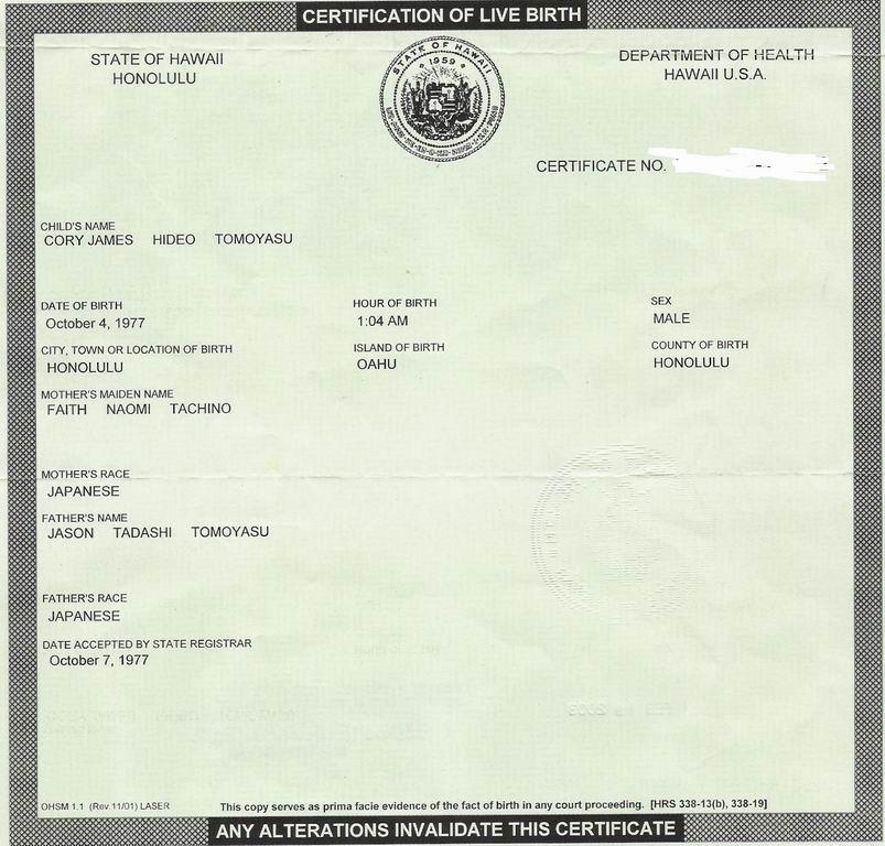 Pretty Certificate Of Live Birth Template Images \u003e\u003e Official Birth - online birth certificate maker