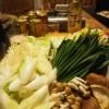 ちゃんこ鍋 とり野菜みそ(まつや)