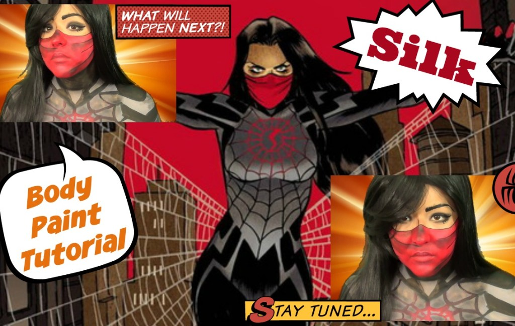 31 Days of Halloween: Spiderman- Silk Body Paint Tutorial