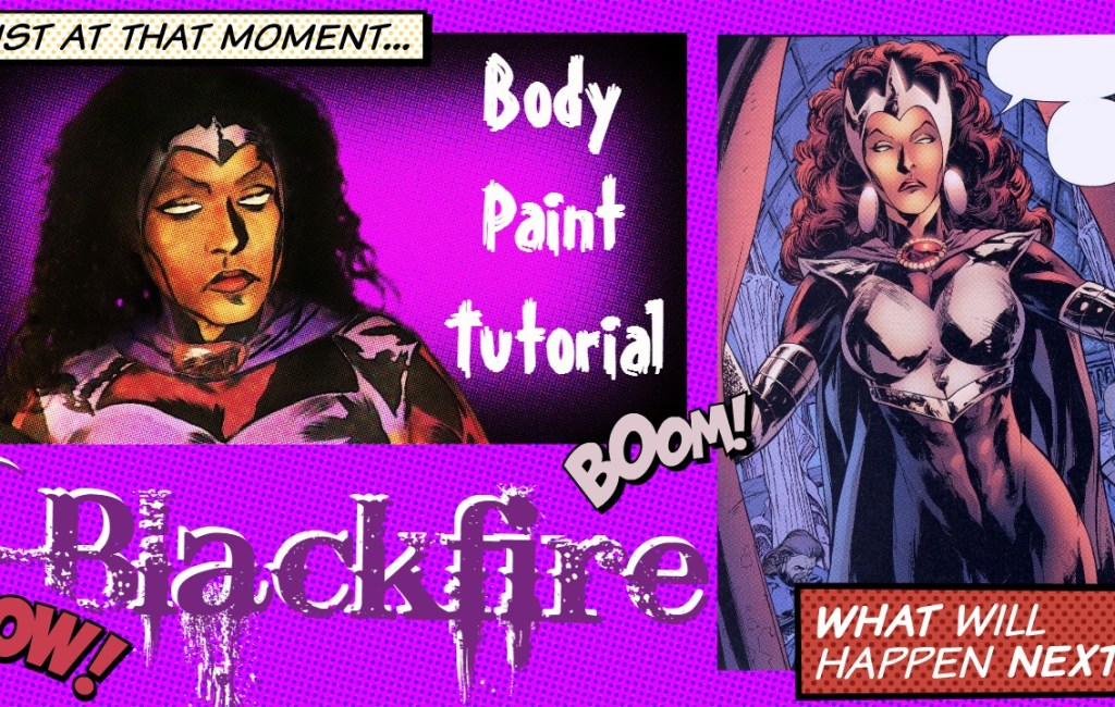 Teen Titans: Blackfire Body Paint Tutorial