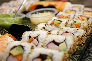 Sushi Making Class Auction Package 2012 Noble Chef Benefit Supporting Maui Culinary Academy