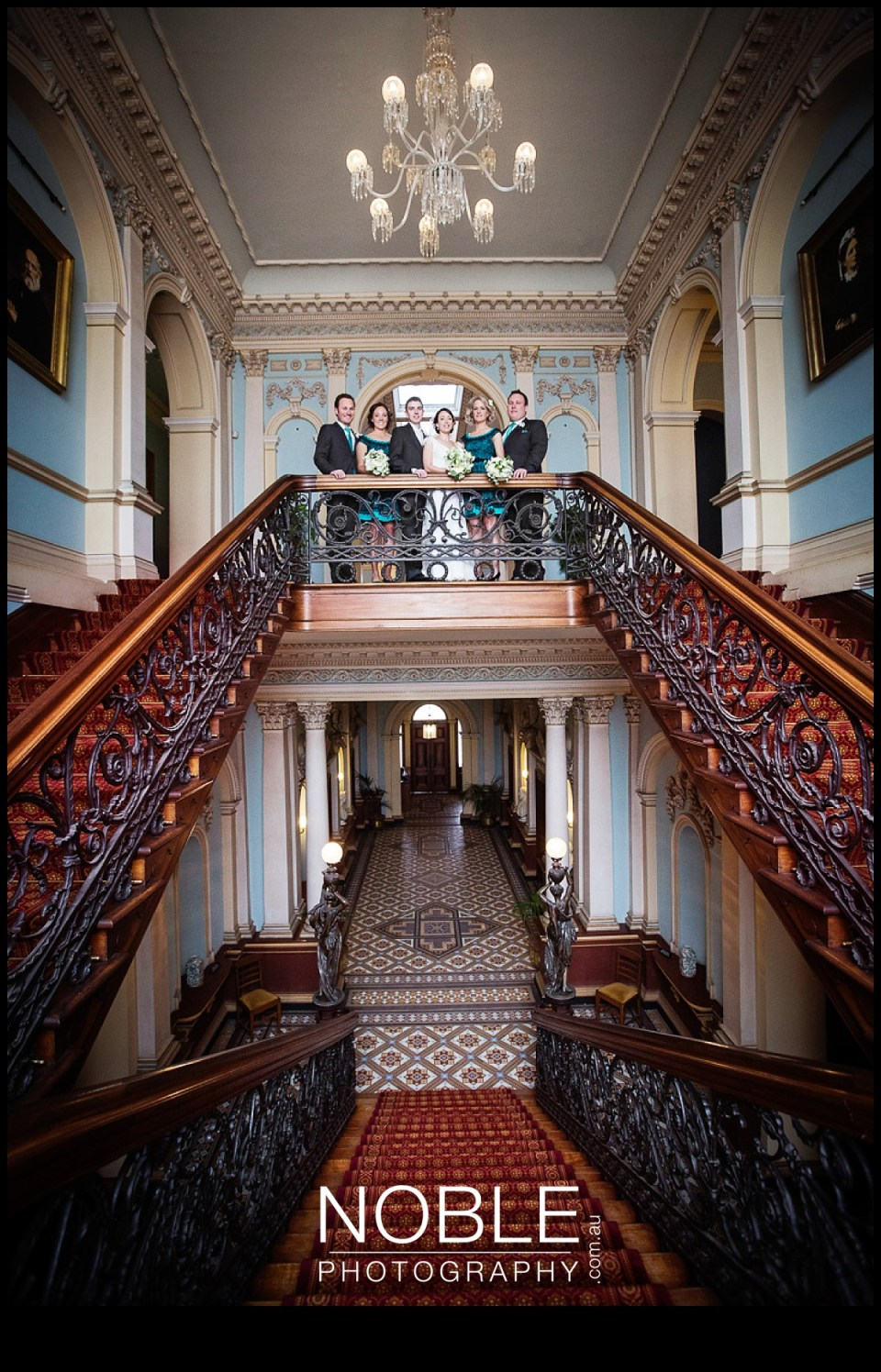 Werribee Mansion Bridal Party Photography