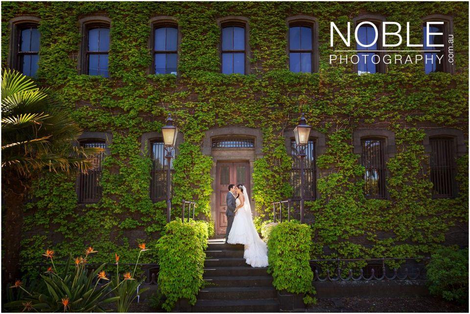 Victoria Barracks Wedding Photo