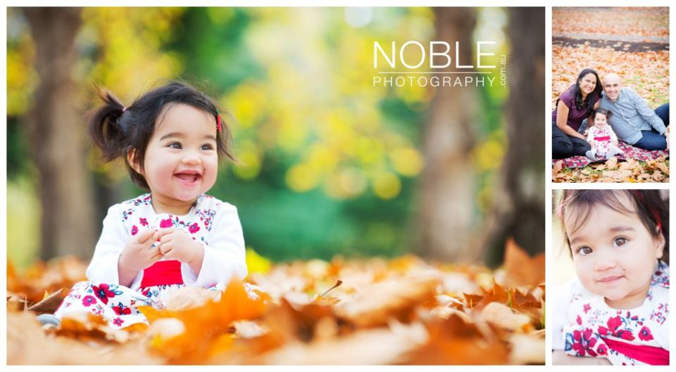 autumn kids photos