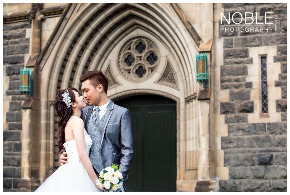 Church Wedding Asian