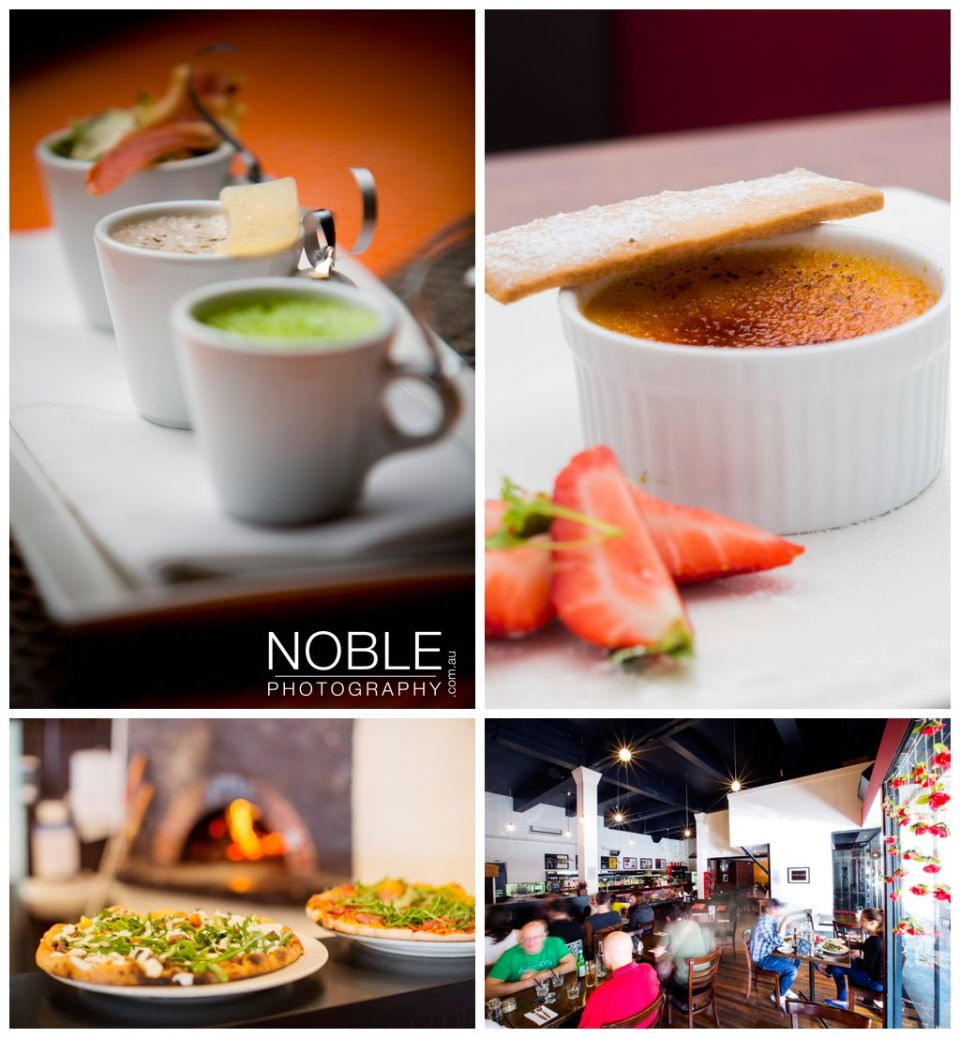 cafe food photography