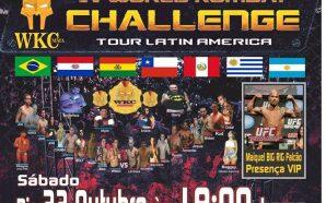 WKC MMA Brasil: Evento terá atletas de 4 países e…