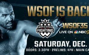 Ex-UFC desafiará campeão peso-pesado pelo WSOF 35. Outro ex-UFC fará…