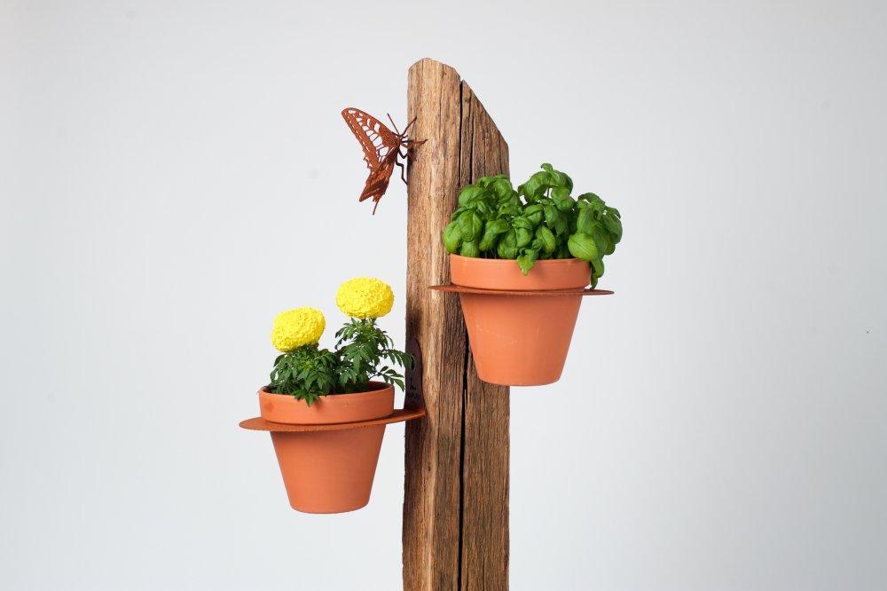 Flower Pot Holder Nochless Design From Belgium