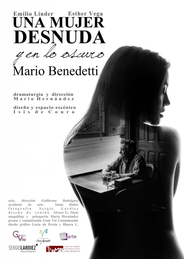 Cartel Una mujer desnuda_small