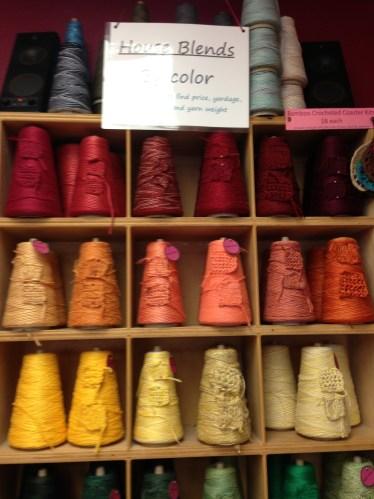 Pre-made color cones