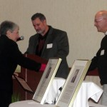 "Rev. Dan Ferry receives the ""Stepping Up"" Volunteer Award"