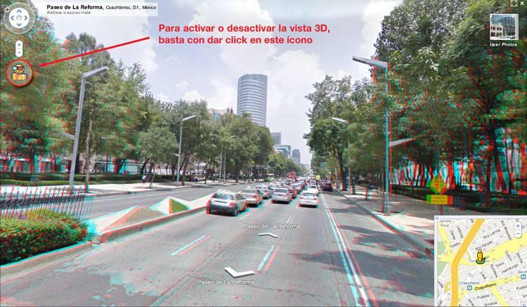 Google Maps 360° ahora en 3D