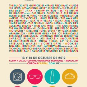 cartel corona capital 2012