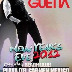 David Guetta en playa mamitas 31 de diciembre 2012
