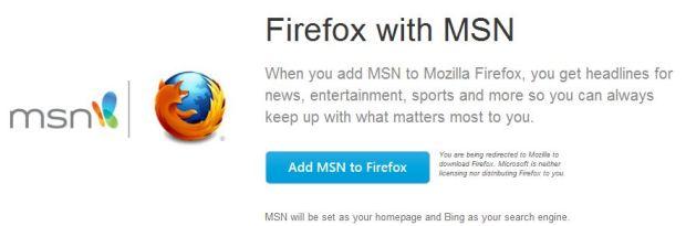 msn firefox
