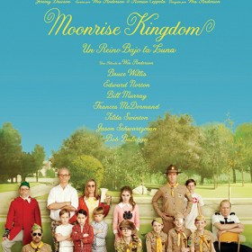 poster reino bajo luna moonrise kingdom