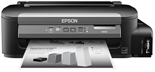 Epson nuevos equipos WorkForce M105 y M205