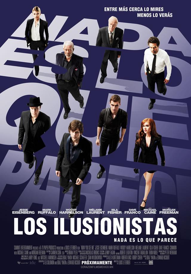 Notas de producción: Los ilusionistas