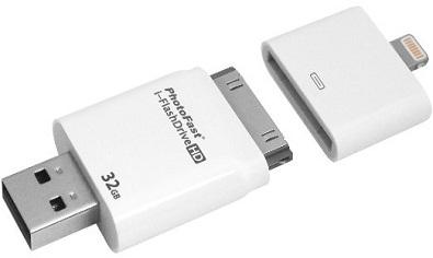 Más capacidad de almacenamiento con la App i-Flash Drive One de PhotoFast