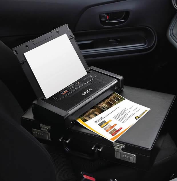 EPSON EcoTank L375, WorkForce WF-100 y EcoTank L655