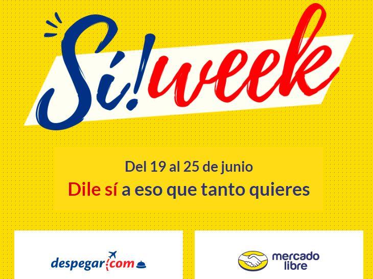 Despegar.com y Mercado Libre se unen en Sí! Week