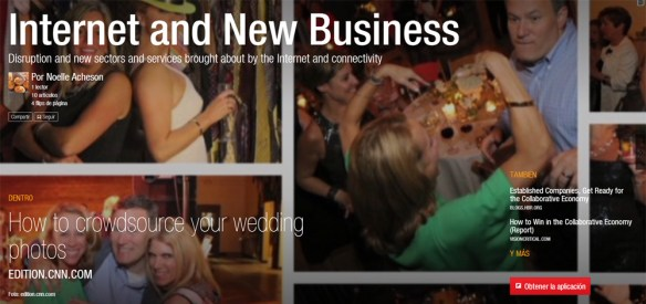 Noelle Acheson's Flipboard magazine Internet and New Business