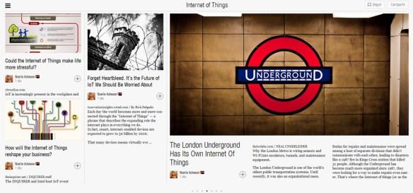 Internet of Things, on Flipboard