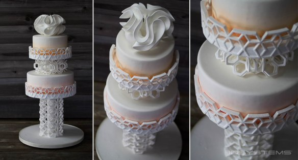 3d printed wedding cake decorations
