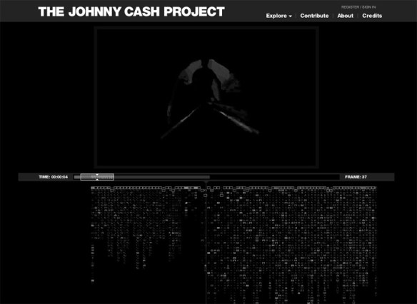 watch the Johnny Cash Project