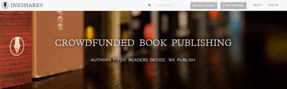 literary crowdfunding: inkshares