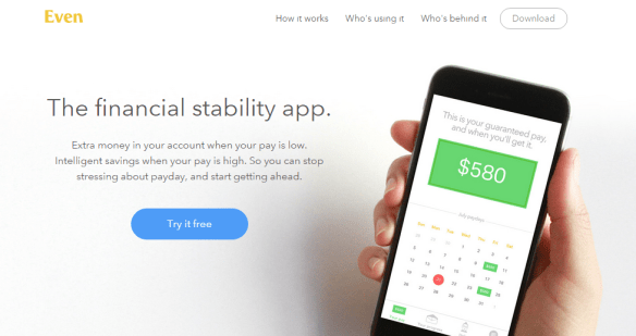 apps that help with financial stability