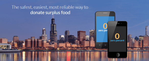 apps that help distribute food