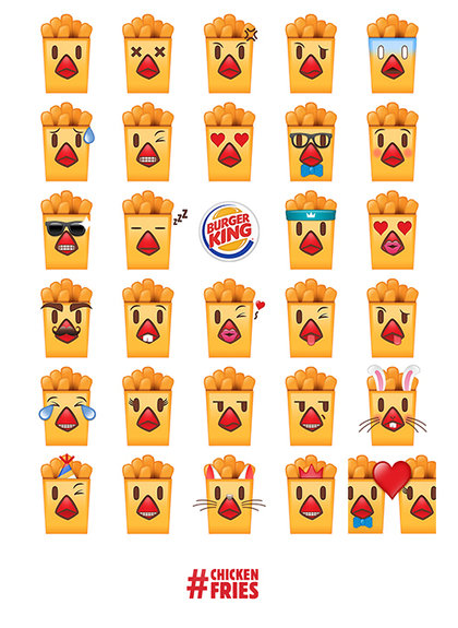 emoji burger king