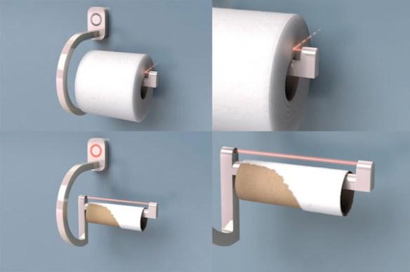 smart toilet paper roll