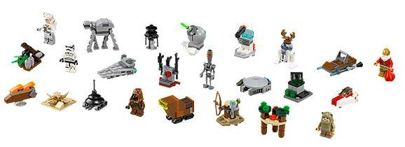 star wars lego advent calendar 2