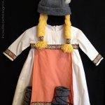 Tiny viking girl costume