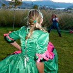 hike up you hoop skirt to score