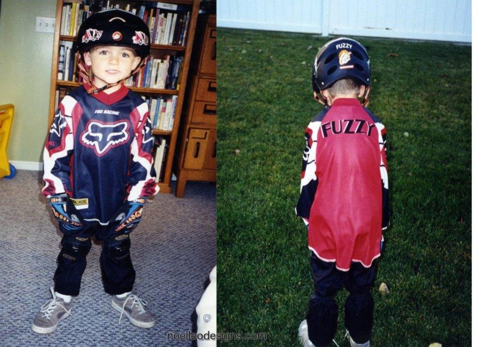 BMX rider costume