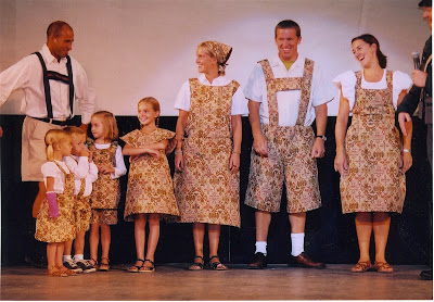 Sound of Music Drapery Costumes