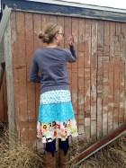 make a tiered skirt