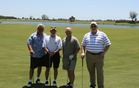 Golfing at the Ritz-Carlton - Saratoga