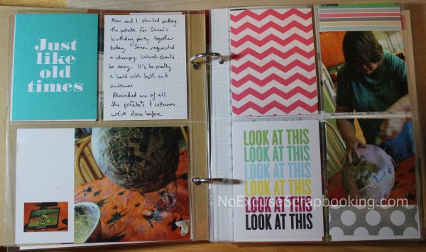 Using pocket pages to document life || noexcusescrapbooking.com