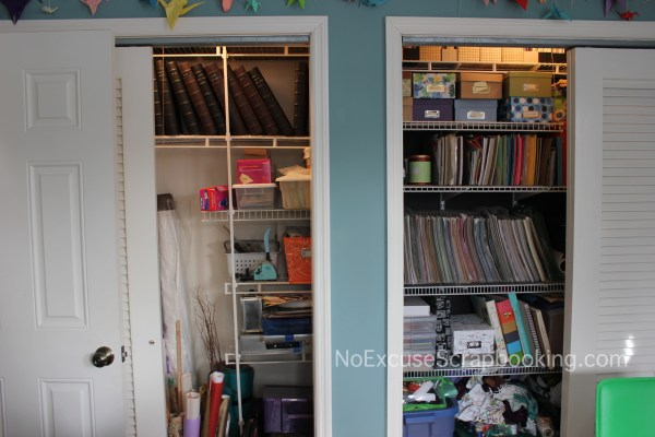 craft closet updated