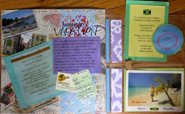 Jamaica--no photos || noexcusescrapbooking.com
